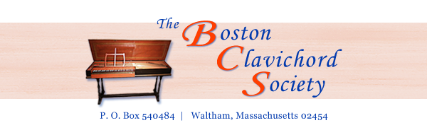 About Us • Membership | Boston Clavichord Society